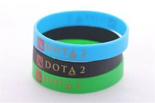 3 PCS New Defense Of The Ancients (Dota) 2 Silicone Wristbands Bracelets