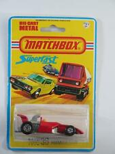 MATCHBOX SUPERFAST MB36-C7 Formula 5000 Racing Car MINT SEALED BLISTER USA 1978