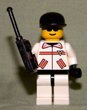 Lego RES Q EMERGENCY EVAC HAT & RADIO LOOSE From 6479 Set Mini-Figure R.E.S. Q