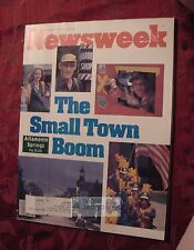 NEWSWEEK July 6 1981 7/6/81 Small Town Boom Ronald Reagan Israel Punk Surfing