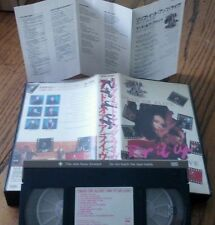 DEAD OR ALIVE/Pete Burns Rip It Up Live VHS Tape & Insert 1988 CBS/Sony Japanese