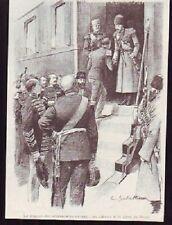 1896  --  DEPART DE SOUVERAINS RUSSES GARE DE BOUY F886