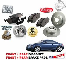 FOR AUDI TT 1.8 QUATTRO 225BHP 1999-2005 FRONT + REAR BRAKE DISCS SET AND PADS