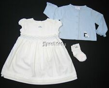 NEW Janie and Jack Winters Little Charm 3pc Dress Set Outfit 12 18 Mo Velvet NWT