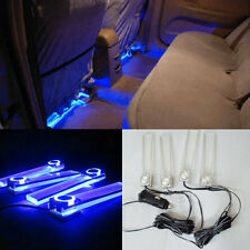Atmosphere Light Ambience Lamp Romantic Blue Light Car Interior 80mA ABS 4pcs