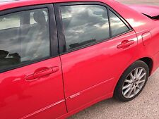99-05 LEXUS IS200 IS300 COMPLETE REAR RIGHT SIDE O/S/R DOOR RED COLOR 3P0