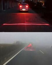 Cars Driving Safety Fog Warning Alarm Red Lights Laser Anti Rear Collision Lamps