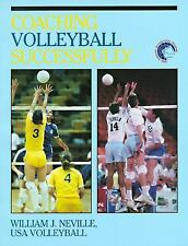 Coaching Volleyball Successfully, United States Volleyball Assoc, Neville, Willi
