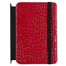 Verso Darwin Crocco Interchangeable Swap-It Cover for Kindle Fire Red Patent