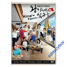 """BUY 5 GET 1 FREE"" King's Family Korean Drama (10DVDs) GOOD_ENGLISH Subtitles!"