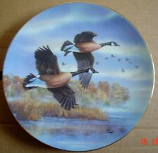 Dominion China Collectors Plate GOLDEN FLIGHT: CANADA GEESE
