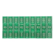 27Pcs SO/SSOP/TSSOP/SOIC16 to DIP Adapter PCB Board Converter Double Sides 246A