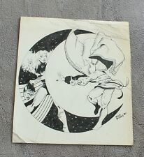 Doctor Strange 1980 Decapitated Signed Nick Burns Marvel ORIGINAL ART FA/G