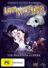 Love Never Dies (DVD) - Andrew Lloyd Webber - Region 4 - Very Good Condition