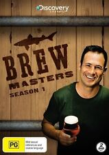Brew Masters Season 1 DVD 2 Disc beer bottle bar Micro ale discovery FREE POST