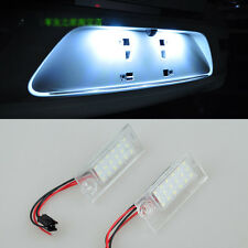 2x Error Free LED number License Plate Lights For Audi A6 C5 Sedan 1997-2005