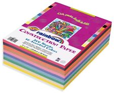 Rainbow Super Value Construction Paper, 9 x 12 Inches, Assorted Colors,