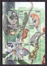 """ Malagasy Rep., Scott cat. 1411. African Fauna sheet with Butterfly."