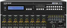 8x8 8:8 HDMI and HDBaseT UHD 4K2K Matrix Switcher Extender with EDID SB-5688CK