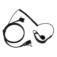 G-Shape Earpiece Headset for MOTOROLA Radio MTH600 MTH800 MTH850 MTP850 as