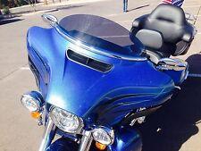 """Harley 6"""" Windshield Dark Tint  – Touring / FLH  FLHT FLHX / Bagger / 2014 - 16"""