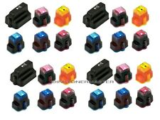 24PK Printer Ink Set for HP 02 C6180 C6280 C5150 D7145