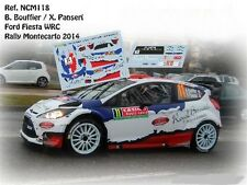 DECALS 1/43 FORD FIESTA RS WRC - #11 B.BOUFFIER -RALLYE MONTE CARLO 2012- NCM118