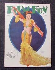 1932 May FILM FUN Magazine VG+ 4.5 That Hotcha Role - Pin-Ups