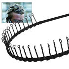 Toothed Hair Band Black Metal Headband Sports Football MEN Women Hairband COMB