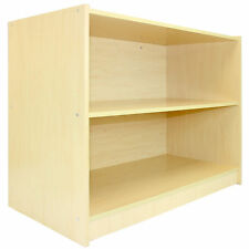 SHOP COUNTER Maple RETAIL SCAFFALI Display Cabinet di archiviazione fino a blocco A1200