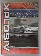 Supercar Rue Challenge PC CD-ROM jeu de course neuf et scellés XP