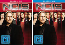 6 DVDs * NCIS -  STAFFEL / SEASON 6 ( 6.1 - 6.2 ) IM SET - NAVY # NEU OVP +