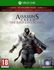 ASSASSIN'S CREED THE EZIO COLLECTION XBOX ONE PAL NEW SEALED IMPORT COPY