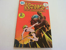 KONG THE UNTAMED COMIC  #1   JULY 1975   WRIGHTSON COVER   FINE+