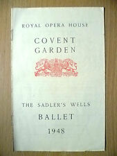 Royal Opera Covent Garden BALLET 1948-LES PATINEURS/ THREE CORNER HAT/ MAM'ZELLE