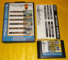 MEGA GAMES 6: Golden Axe, Street of Rage... Sega Mega Drive PAL ○○ COMPLETO - BB