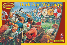 DARK AGE WARRIORS  - GRIPPING BEAST PLASTICS GBP - 28MM - CRUSADES - SAGA