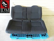 96-00 HONDA CIVIC TYPE-R CTR EK9 OEM BLACK REAR SEATS #3 JDM B16B