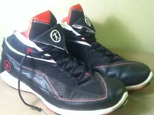 Converse Dwayne Wade Red Black White Mid Leather Basketball Shoes Men's sz 12