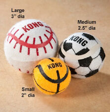 KONG SPORT BALLS LARGE TENNIS DOG TOY 2 PACK FREE SHIP IN THE USA
