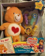 NEW 2005 Tenderheart Smart Check Up Orange Plush Heart Care Bear Preschool NIB