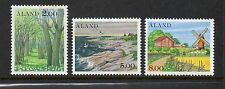 Aland 1985 Aland Scenes SG17-19 unmounted mint set stamps