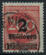 Germany SG#302a 2m On 200m Rose-Red Used #A85103