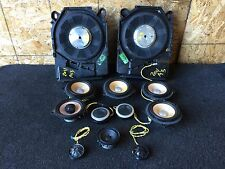 BMW E90 E92 E93 OEM M3 INDIVIDUAL AUDIO SOUND SPEAKERS TWEETERS BASE SUBWOOFERS