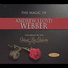 Magic of Andrew Lloyd Webber [Box] by Orlando Pops Orchestra (CD, 3 Discs) NEW