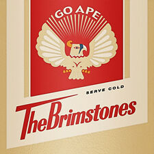 """THE BRIMSTONES The Brimstones 7"""" . cramps damned slits remains seeds link wray"""