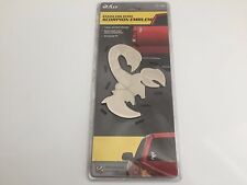 Bully Scorpion Emblem Stainless Steel Emblem 3-D Decal for Cars,Truck's,Suv's
