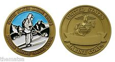 "MARINE CORPS MCMWTC MOUNTAIN WARFARE TRAINING CENTER 1.75""  CHALLENGE COIN"