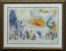 Marc Chagall-Ltd Ed lithograph-The Four Seasons Lot 6366