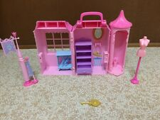 Barbie Princess & The Pauper Anneliese Boutique Mini Kingdom Playset Fold Carry
